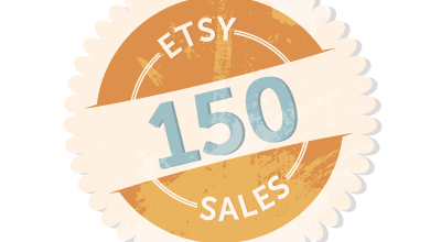 150 Etsy Sales and Counting!